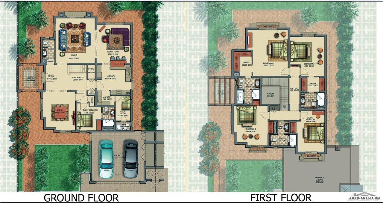Horizon Type C1 European 5 Bedroom Victory Heights Floor
