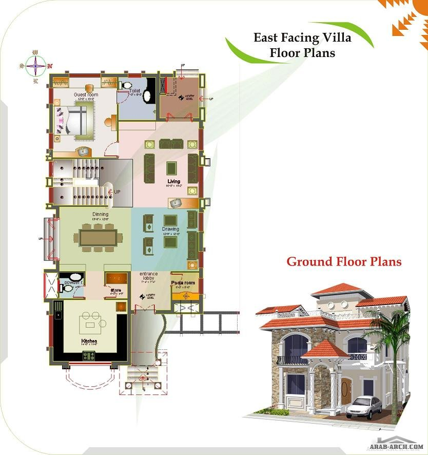 Floor plans luxury spanish villas arab arch for Luxury villa plan