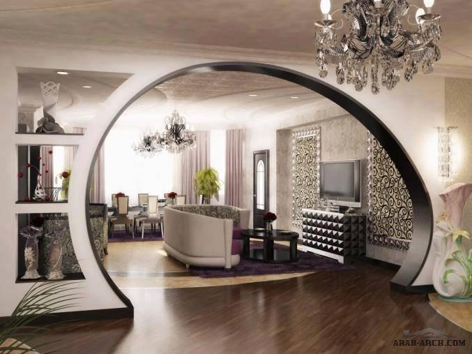 Dicore Des Porte Platr Placoplatre : دار الخواجا للتصميم و الديكور الداخلي arab arch