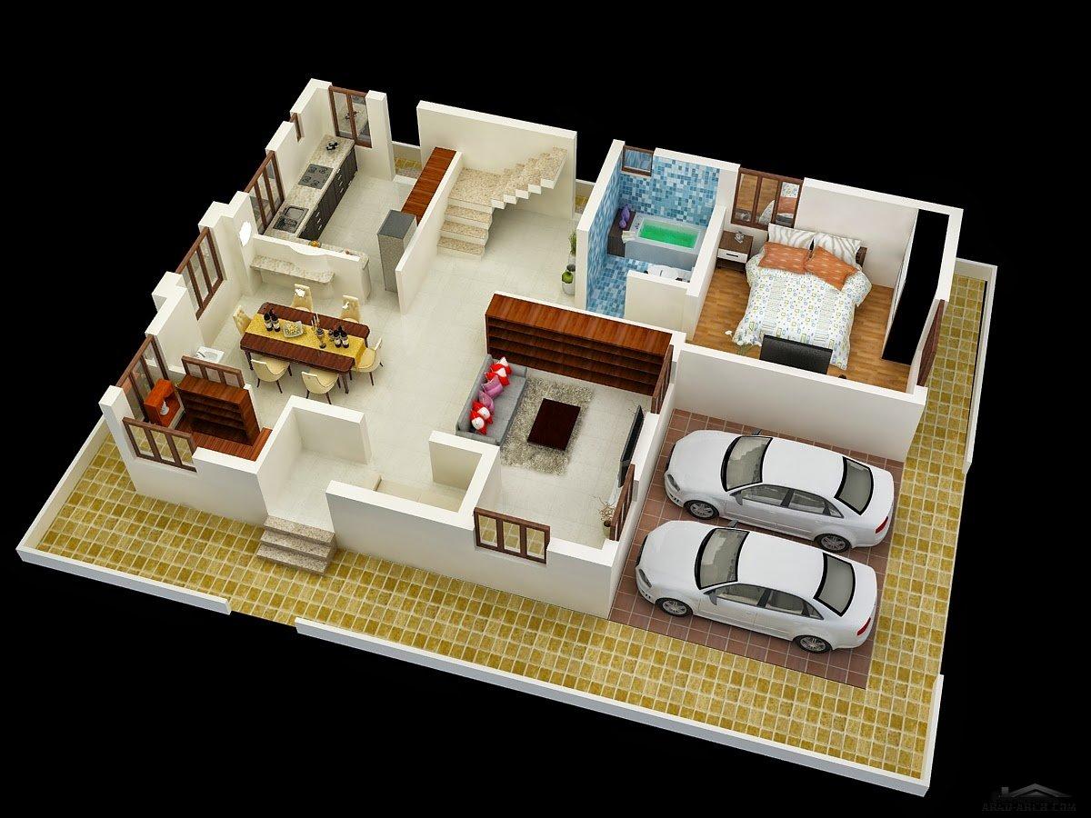 Duplex House Plan At Gharplanner Arab Arch