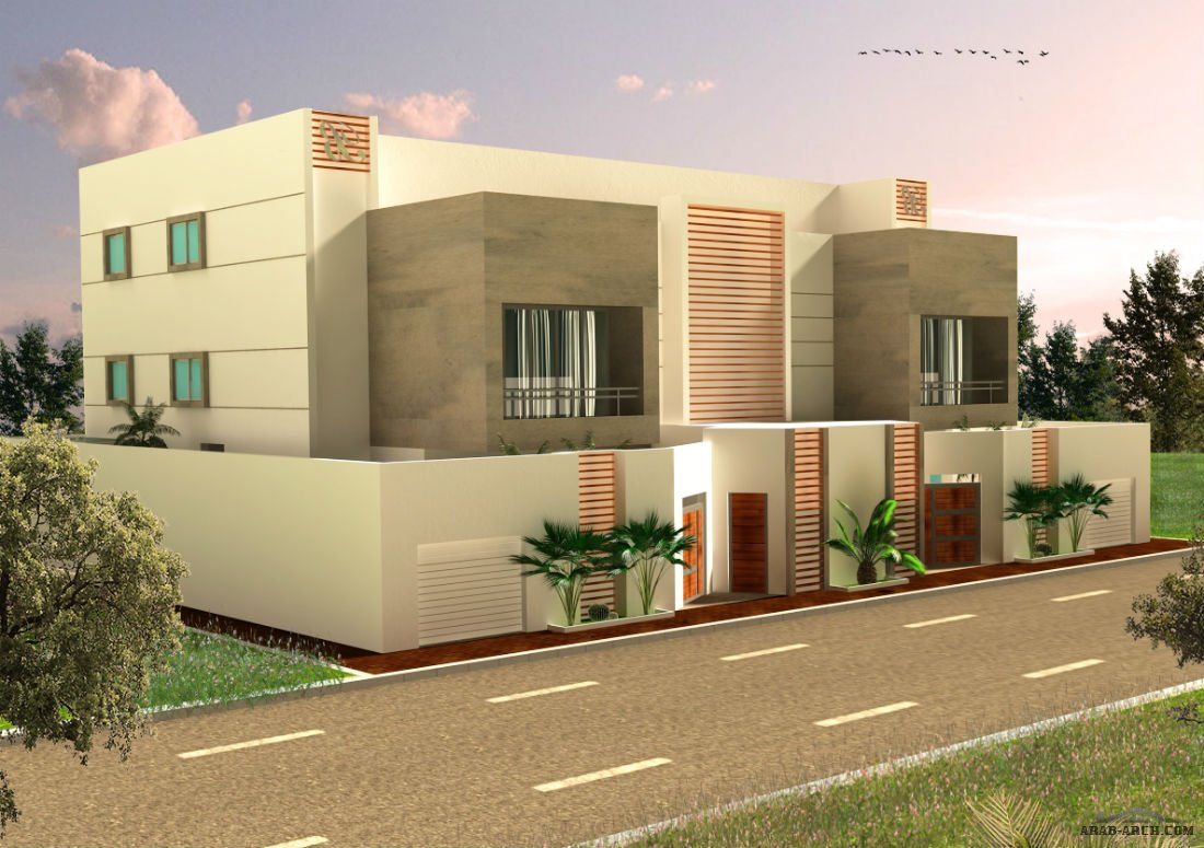 Villa duplex project by mohamed abandeh jeddah saudi for Duplex project