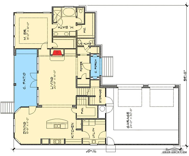 Floor plans 3 bedroom tuscan villa arab arch for Tuscan villa floor plans