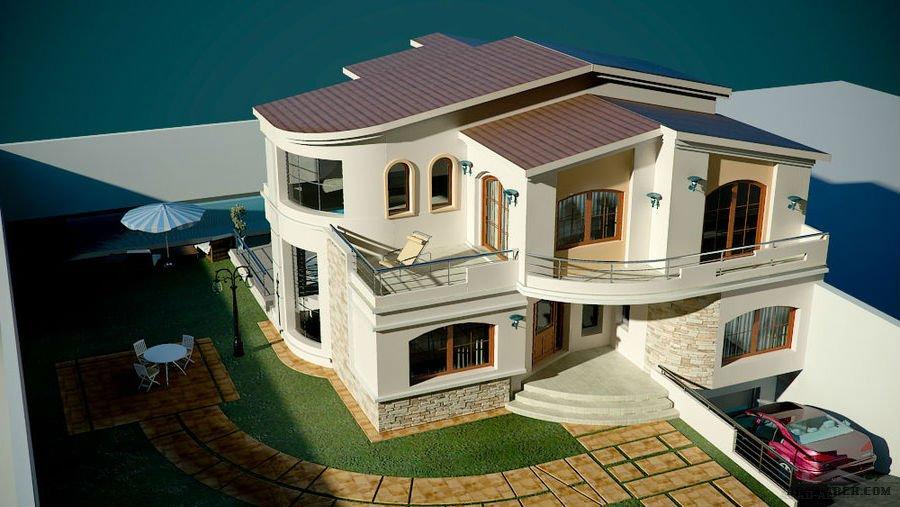for Plan d architecture villa moderne