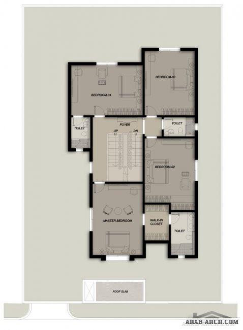 : تصميم منازل صغيرة طابقين : منازل