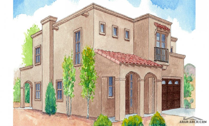 2-story house plan opens up with a grand entry and elegant staircase.