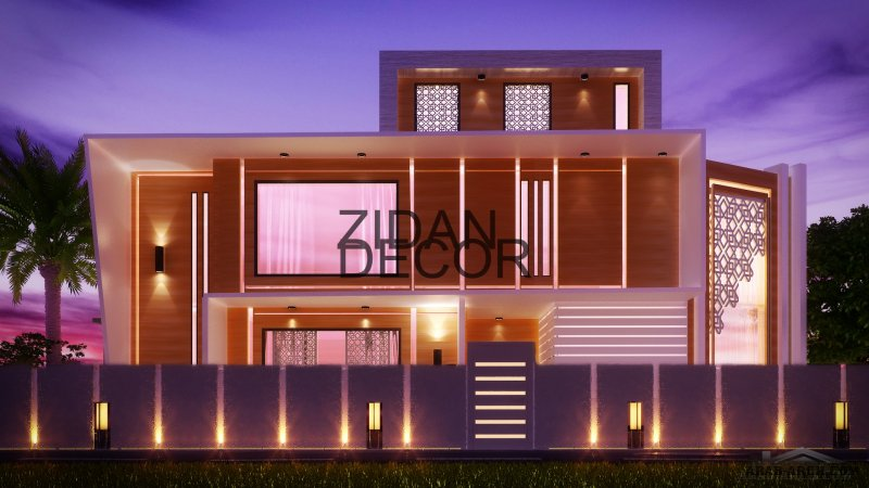 Zidan Architects Luxury Exterior
