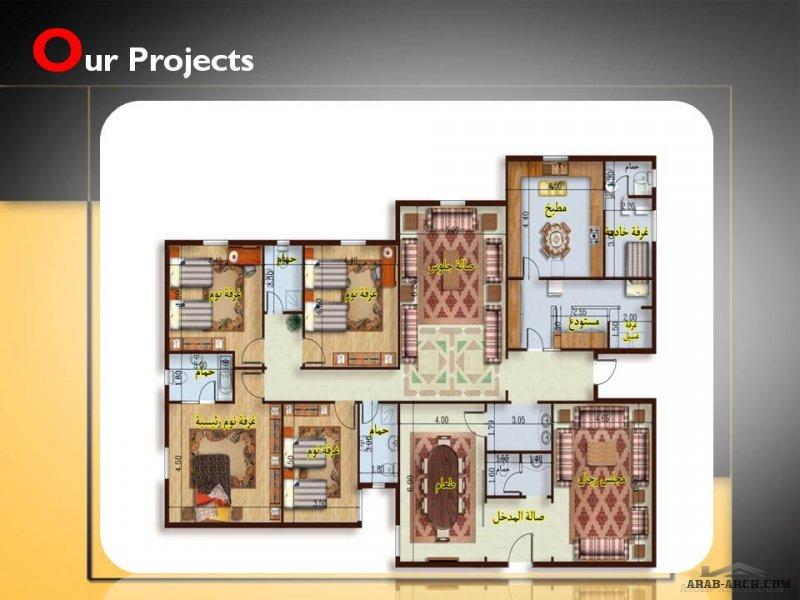 المهندس للتصميم (تصميم فيلات وعمائر سكنية)