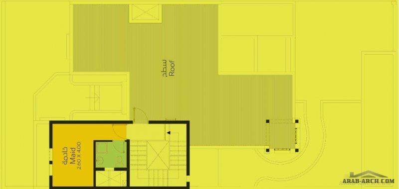 فيلا باريزيانا ليفينج الرياض المساحه 323 متر مربع 4 غرف نوم - دار الاركان
