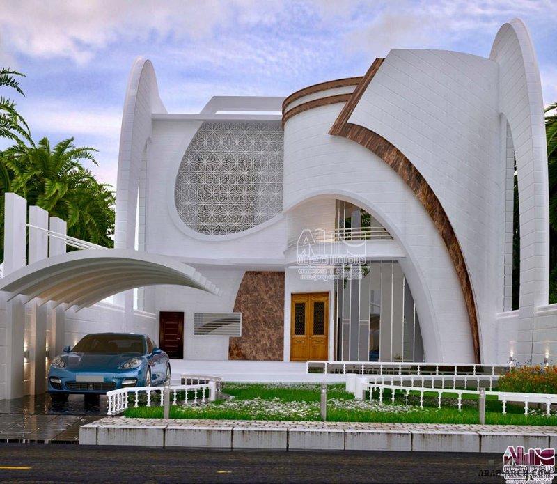 أجمل واجهات بيوت العراق من اعمال المهندس المعماري سامر ديوان