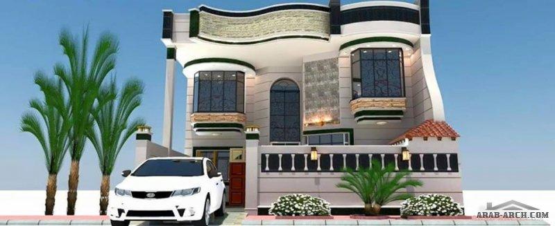 واجهات بيوت عراقيه متنوعه لمصممين و معماريين مبدعين