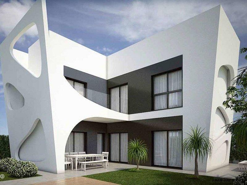 تصميم مودرن 120 متر مربع 3 غرف نوم