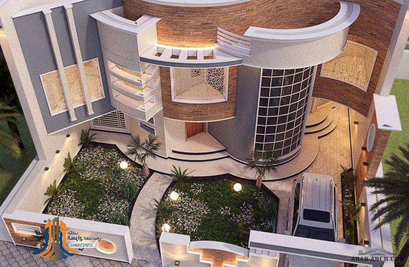 روائع واجهات بيوت العراق مكتب السراج الهندسي