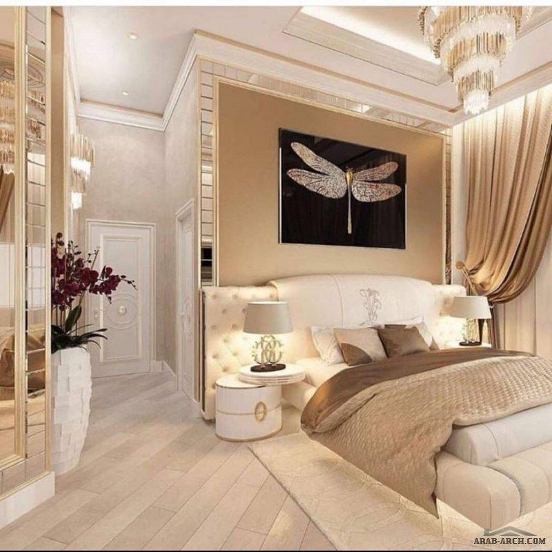 تصميم و فرش داخلي غرفة نوم