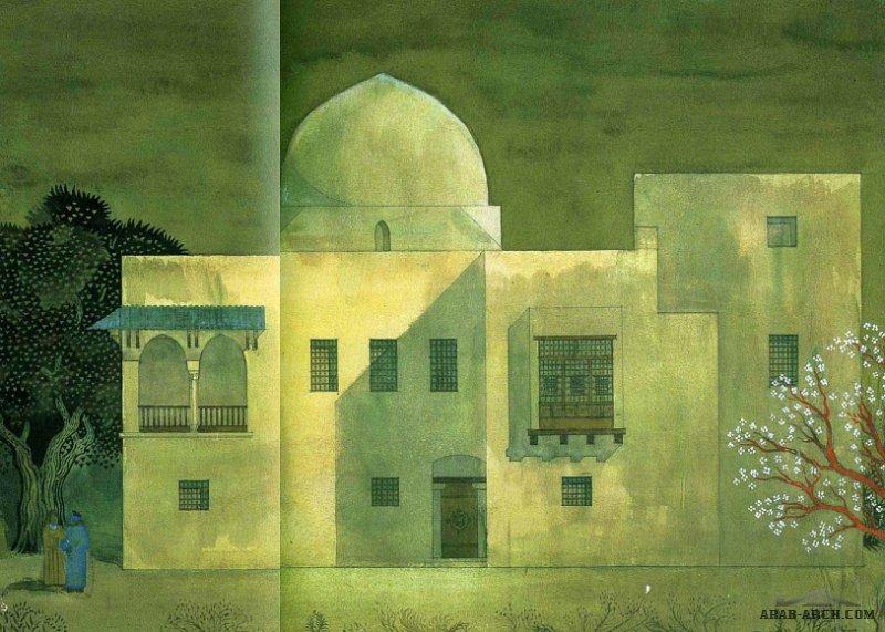منزل من اعمال مهندس حسن فتحي الأعمال الأولى : 1928-1945
