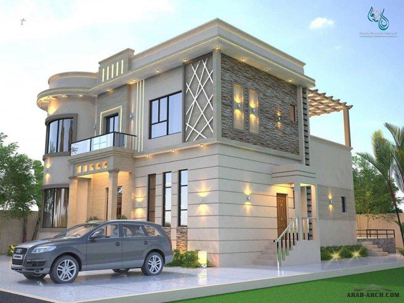 تصاميم اجهات رائعه من العمران للإستشارات الهندسية
