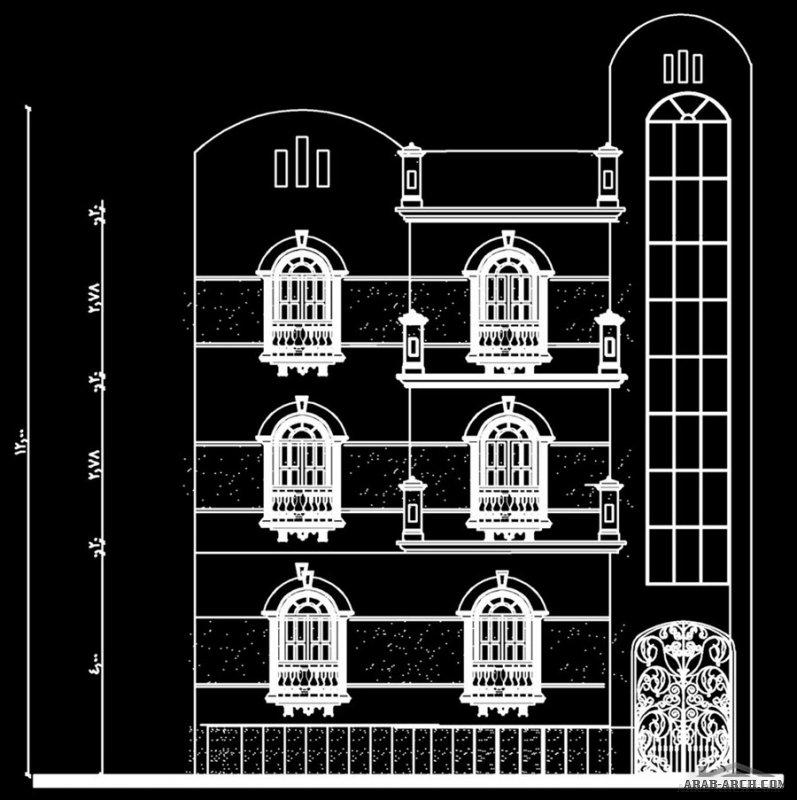 تصميم فيلا دوبلكس  دورين علي مساحة 200 متر مربع ب البناء علي نسبة 60% و  المساحة المبنية 120 متر للمهندسة شيماء علي احمد