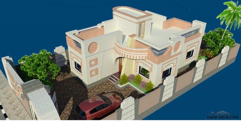 مدينة العين السكنية (نماذج فلل صغيرة  85  متر مربع) في  الحديدة من اعمال مهندس وائل البرهمي