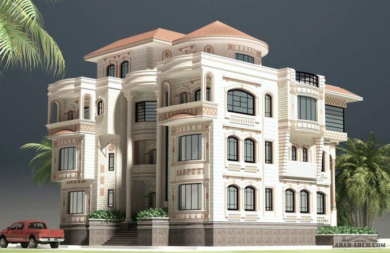 واجهات مباني وعمارات من اعمال مهندس  وائل البرهمي