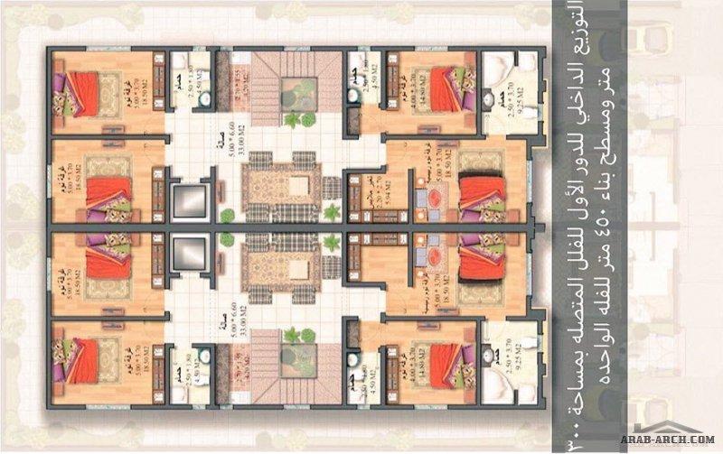 مشروع فلل بست هومز -الدمام - الفلل المتصلة مساحة الارض 300م٢ مسطح البناء 450م٢ للفلة الواحدة