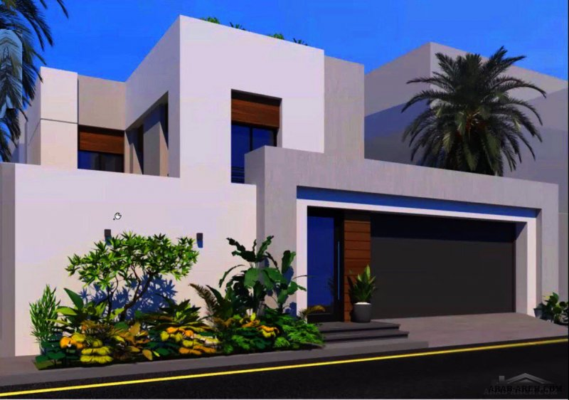 مشروع فيلا رتيل 1 تصميم المعمارية منال الخباز- لمستفيدي منصة سكني مساحة الارض15x25=375
