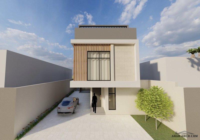 تصميمي لفيلا سكنية خاصة | بريدة  -مساحة الأرض ٣٠٠ م٢  -أبعاد الأرض ١٢x٢٥ من اعمال Abdulaziz Altwijry معماري