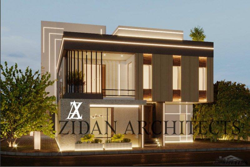 واجهات ذات طابع معماري مختلف من اعمال Arch.Mohanad zidan