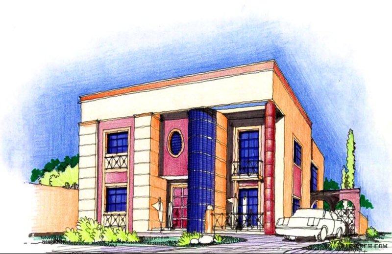 فكرة رقم 9 مخطط فيلا سعودي طابقين مساحة الارض 30*20 متر eng.Hamad Sultan