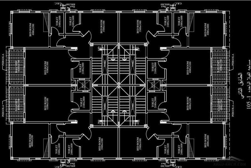 مخطط 4 فلل صغيرة المساحة   الارض(٦٠٠) متر مربع سلطنة عمان (صلالة)