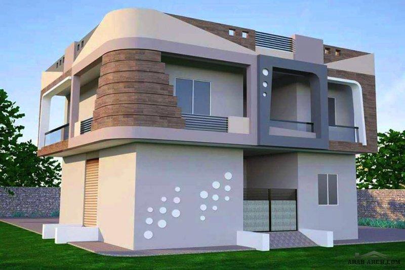 واجهات بطابع مميز من اعمال مكتب مسقط للتصميم الهندسي  سلطنة عمان