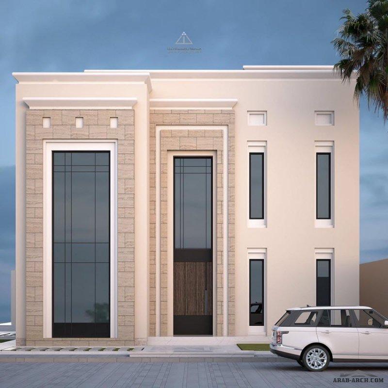 اعمال و تصاميم واجهات مودرن لفلل انيقة و جميلة من اعمال ثلث مهندسون معماريون