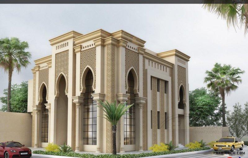من تصميمات مكتب ياسر العقبي للهندسة واجهات مميزة جداا