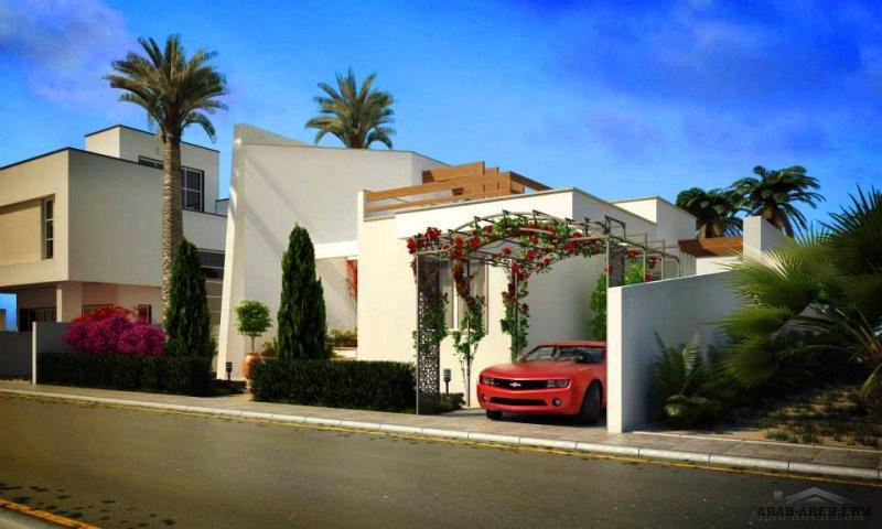 تصميم منزل و حديقة المنزل  الموقع :مصراتة ، ليبيا من أعمال Plaza Architecture