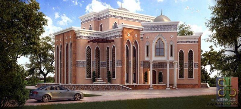 واجهات Oriental villa من اعمال Dieb Studio - مكتب ديب استديو