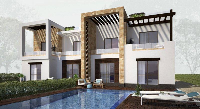 twin villa Pool View Floor Plas