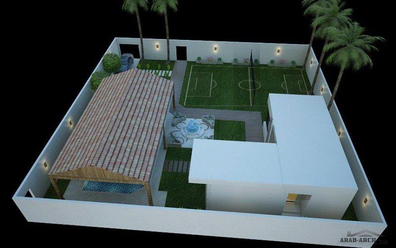 تصميمي لشاليه بالمدينة المنورة من أعمال م. محمد التتري
