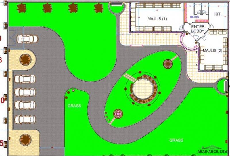استراحة الرياض من أعمال garden design