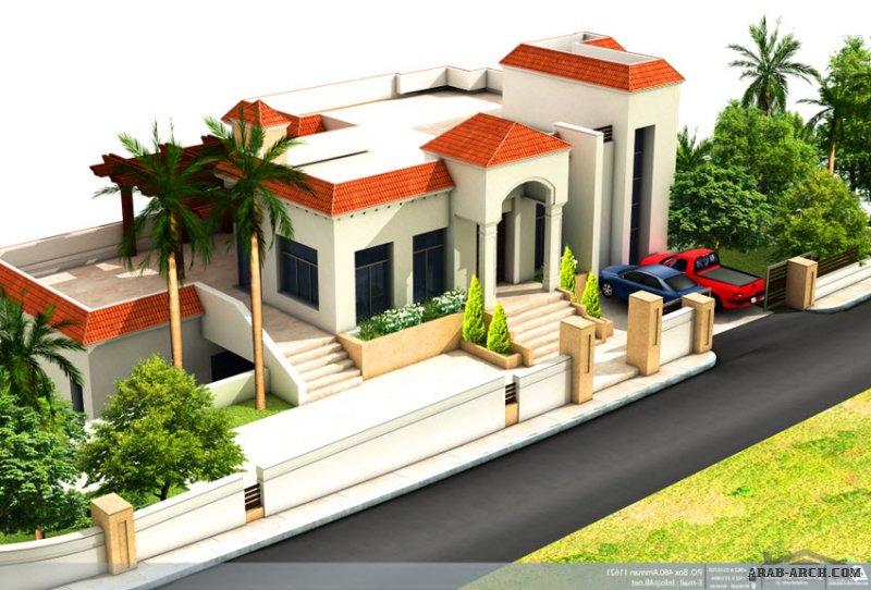 مخطط فيلا خاصة من اعمال العمارة والبناء - مهندسون مستشارون تصميم.إشراف.إدارة مشاريع