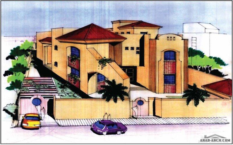 فكر مخطط  لفيلا رائعه للمهندس حامد سلطان مخطط رقم 29