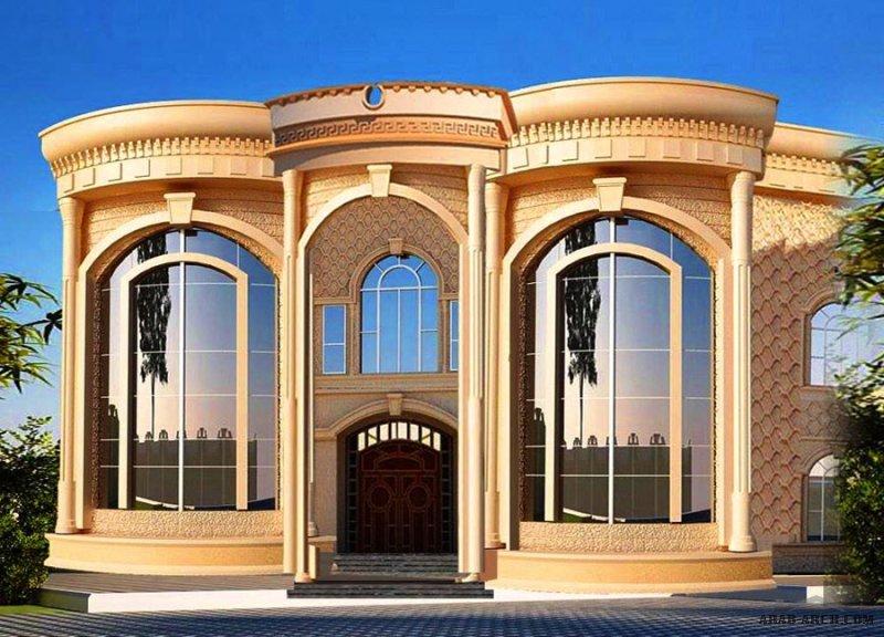 واحهات فيلات تصاميم مكتب ريماس للاستشارات الهندسية
