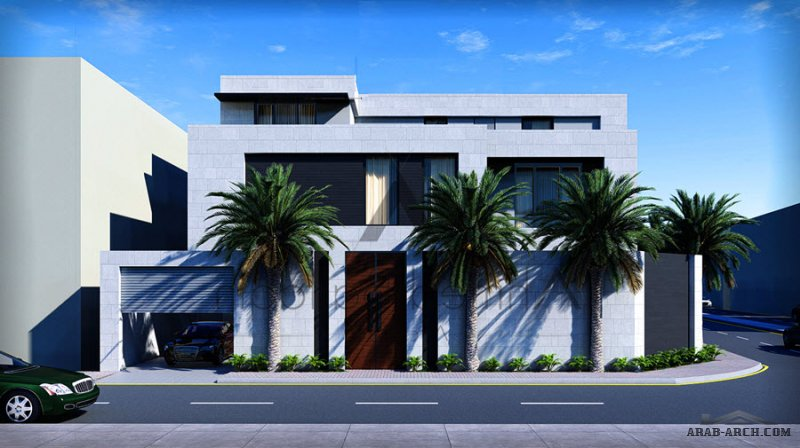 تصميم فيلا مودرن وشقق سكنية على مساحة أرض 780 متر مربع الموقع: جدة من أعمال Ahmed Balfaqih