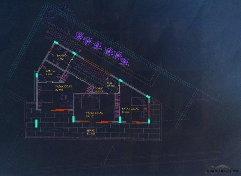فيلا زاوبة رائعه البناء  التصميم مع حمام سباحه الارض 270 م2 قسم الاول هي ( الفيلا ) والقسم الثاني ( شقة ) منفصلة ولها مدخل مستقل