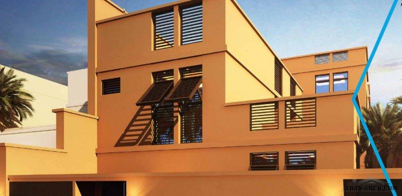 مشروع سهيل الرياض نموذج فيلا توين هاوس الثريا