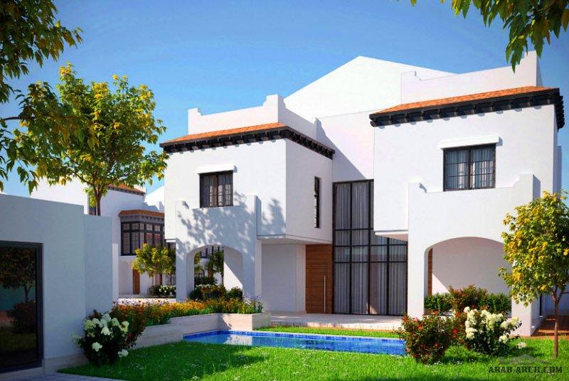 تصميم فيلا التوباز بالرياض نموذج C-2 من أعمال شركة مسكن العربية