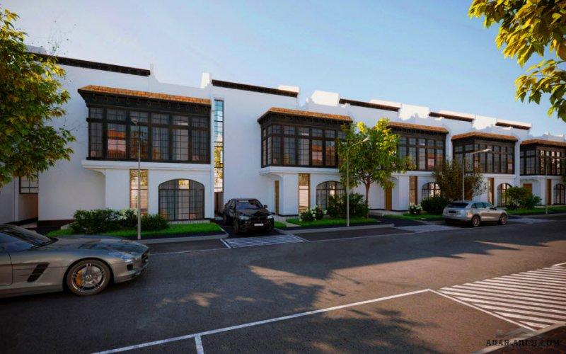 تصميم فيلا التوباز بالرياض نموذج-1-A من أعمال شركة مسكن العربية