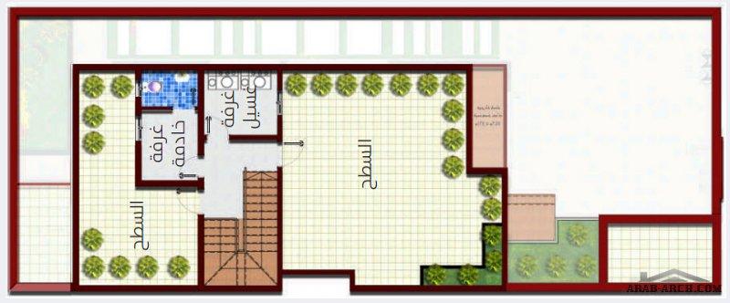 نماذج فيلا صغيرة المساحة بيوت الزامل اسكان الرياض