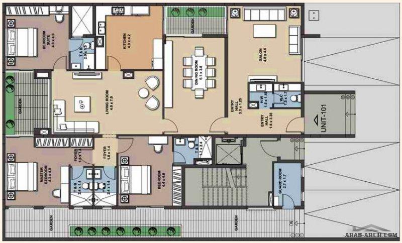 مشروع شقق سكنية من سكني جادة السكب