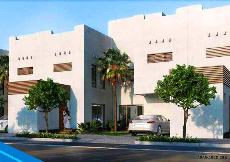 فيلا العليا 1 مشروع مسكن هايتس الرياض من اعمال مسكن العربية تاون هاوس مساحة الاض 208 متر مربع