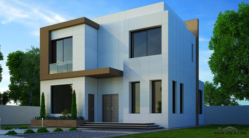 فيلا خليجي غرف النوم 4 المساحة 272 متر مربع عدد الطوابق 2 أبعاد البيت 13.80 م x 11.60 م  صمم بواسطة مكتب الشارقة للاستشارات الهندسية