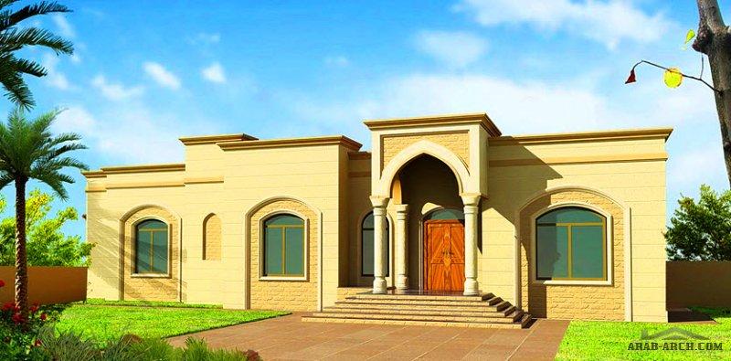 مخطط أرضي 5 غرف نوم   المساحة 512 متر مربع  أبعاد البيت 33.40 م x 23 م صمم بواسطة ديار للاستشارات الهندسية