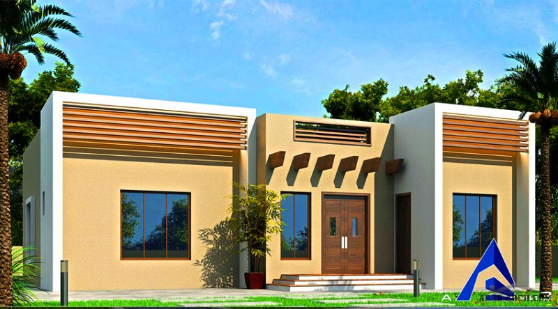 مخطط دور احد غرف النوم 3 المساحة 244 متر مربع  أبعاد البيت 17.10 م x 16.90 م صمم بواسطة إنماء للإستشارات الهندسية